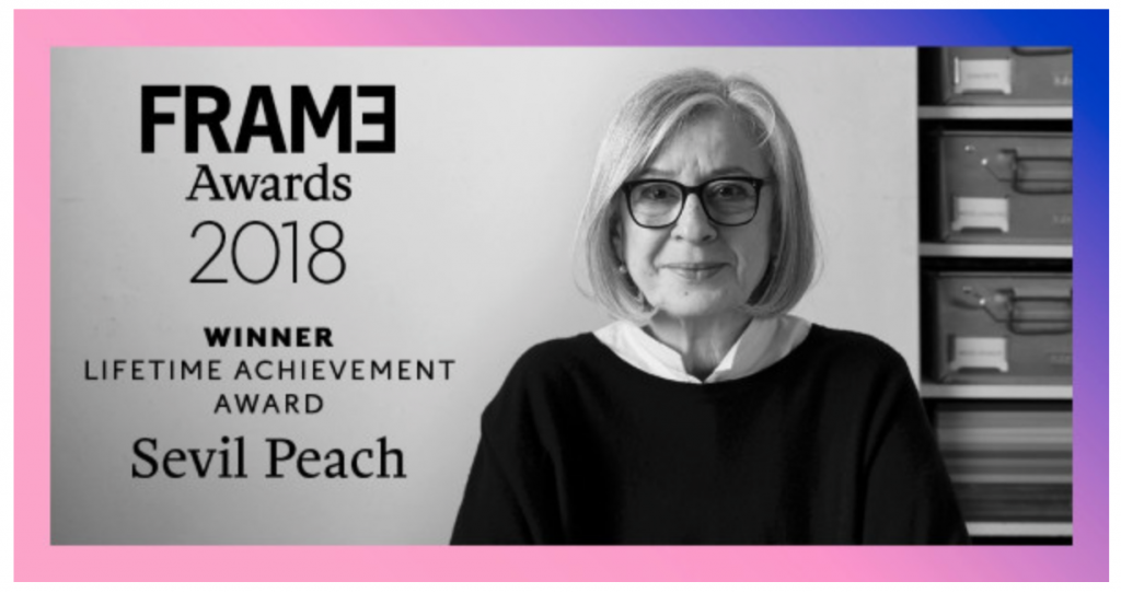 Sevil Peach Frame Awards